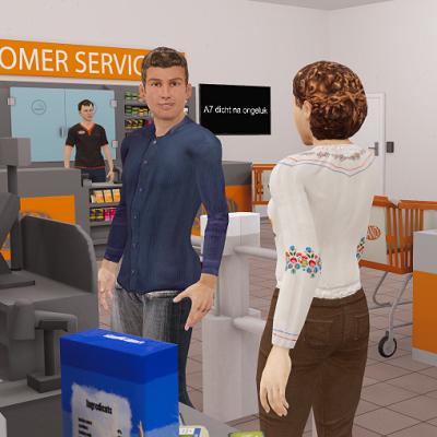Supermarkt in VR